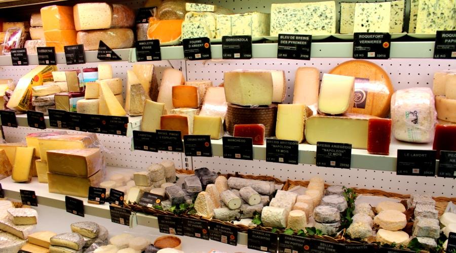 Cheese shop in Montmartre