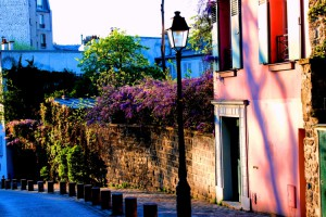 Montmartre in the evening