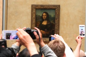 Simply the Louvre's most popular lady