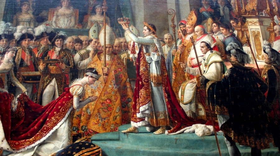 Coronation of Napoleon in the Louvre