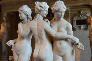 Three Graces in the Louvre
