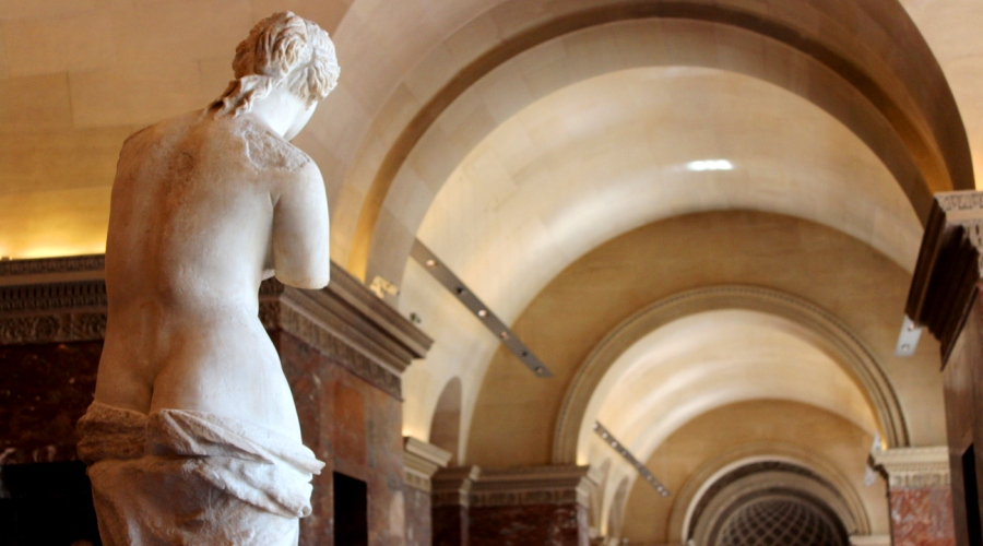 Venus of Milo in the Louvre